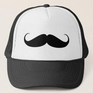 Gorra De Camionero ilustracion del símbolo del vintage del bigote