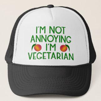Gorra De Camionero I'm miseria Annoying I'm Vegetarian Veggie