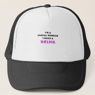 Gorra De Camionero Im un empleado de correos necesito una bebida