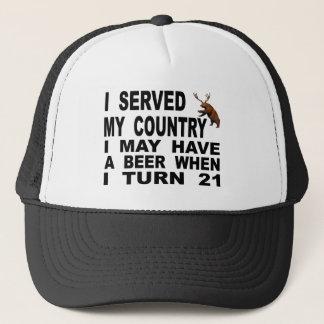 Gorra De Camionero Imitar la edad mínima para consumir alcohol 21