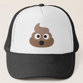 Gorra De Camionero Impulso-emoji chocado - diseño del dibujo animado