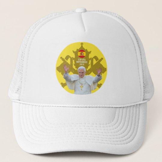 Gorra De Camionero Insignia del Papa