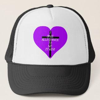 Gorra De Camionero IOATNO Purple Heart y cruz