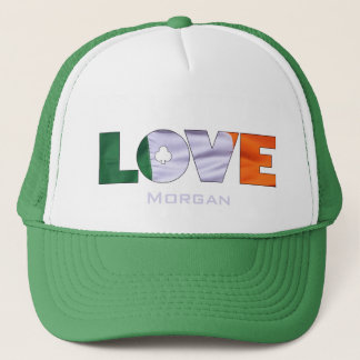 Gorra De Camionero Irlandés del día de St Patrick del amor