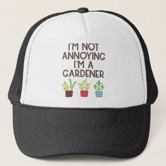Gorra De Camionero Jardinero jardín flores Veggie flores plantada Bio