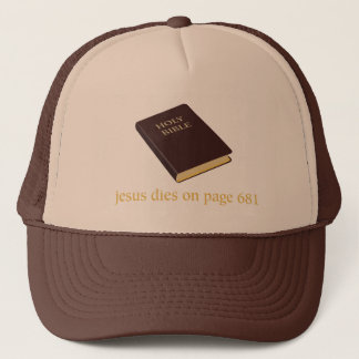 Gorra De Camionero Jesús muere en la página 681