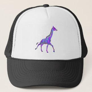 Gorra De Camionero Jirafa de la púrpura del estilo del Hippie el