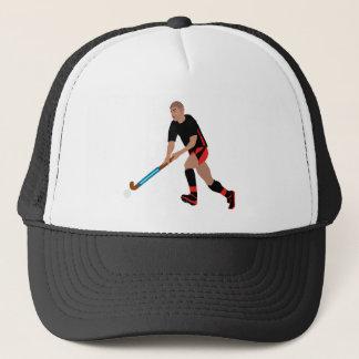 Gorra De Camionero Jugador de hockey hierba masculino
