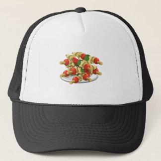 Gorra De Camionero Kebabs estupendos del veggie de la comida de la