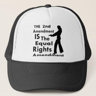 Gorra De Camionero La 2da enmienda ES la enmienda 2 de las derechas