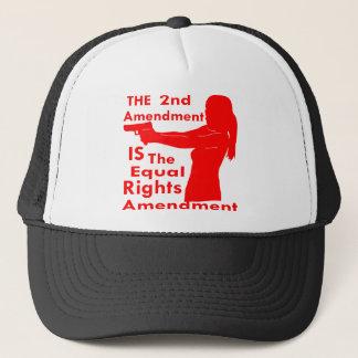 Gorra De Camionero La 2da enmienda ES la enmienda de las derechas del