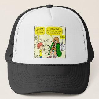 Gorra De Camionero La abuela 903 está comprobando el dibujo animado