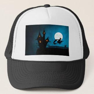 Gorra De Camionero La casa de la bruja de Halloween Helloween la
