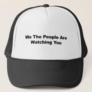 Gorra De Camionero La gente le estamos mirando