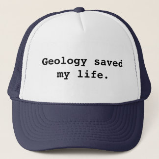 Gorra De Camionero La geología ahorró mi vida
