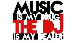 5d0d1b7cb3b35 Gorra De Camionero La música es mi droga - DJ es mi distribuidor