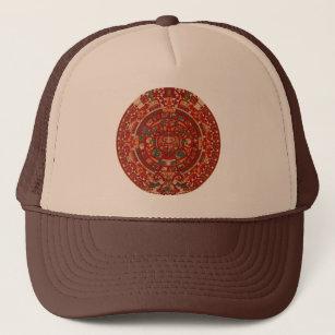 b56dea54df3dd Gorra De Camionero La rueda (azteca) maya del calendario