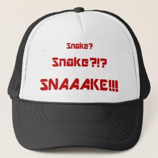 Gorra De Camionero La serpiente sólida es muerta