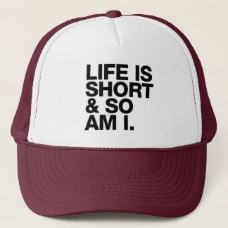 Gorra De Camionero La vida es corta y así que es yo cita divertida