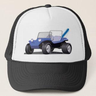 Gorra De Camionero Lado de la Isla de Man azul