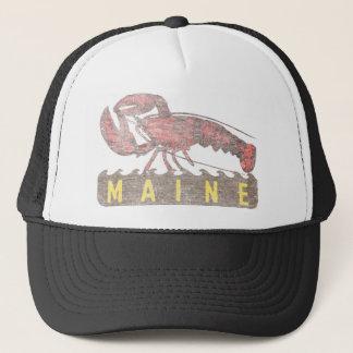 Gorra De Camionero Langosta del rojo de Maine