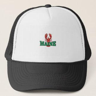 Gorra De Camionero langosta verde de Maine