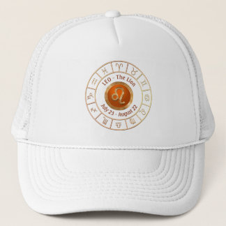 Gorra De Camionero LEO - el símbolo del horóscopo del león