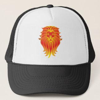 Gorra De Camionero León adaptable del zodiaco de Leo del fuego