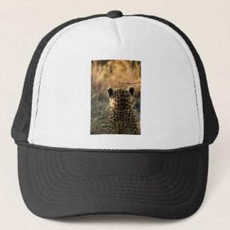 Gorra De Camionero Leopardo que mira apagado en distancia