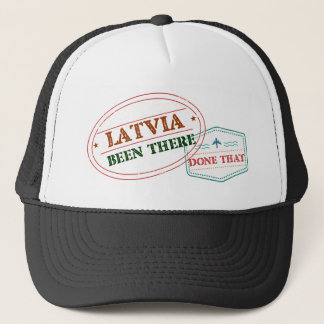 Gorra De Camionero Letonia allí hecho eso