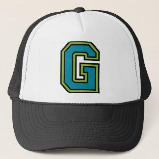 """Gorra De Camionero Letra """"G """""""