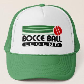 Gorra De Camionero Leyenda de la bola de Bocce