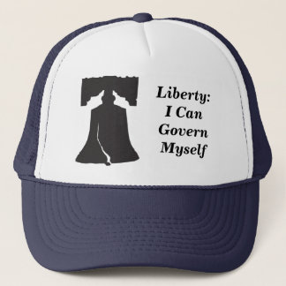 Gorra De Camionero Libertad: Puedo gobernarme