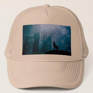 Gorra De Camionero Lobo del grito - lobo salvaje - lobo del bosque