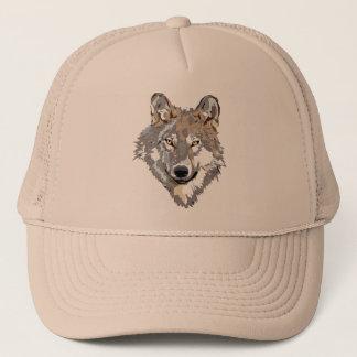 Gorra De Camionero Lobo principal - ilustracion del lobo - lobo