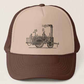 Gorra De Camionero Locomotora de vapor temprana