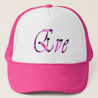 Gorra De Camionero Logotipo conocido de los chicas de Eve,