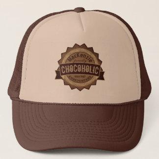 Gorra De Camionero Logotipo de Brown de la insignia del Grunge del