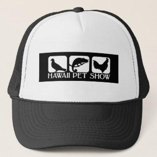 Gorra De Camionero Logotipo de la demostración del mascota de Hawaii