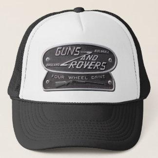 Gorra De Camionero Logotipo de la escopeta de los armas y de los