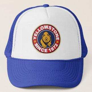 Gorra De Camionero Logotipo del círculo de Yellowstone