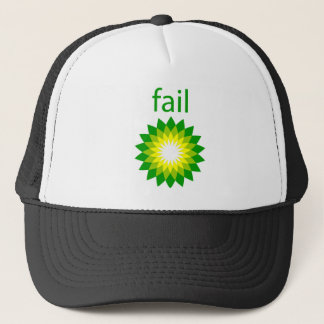 Gorra De Camionero Logotipo del fall del derrame de petróleo de BP