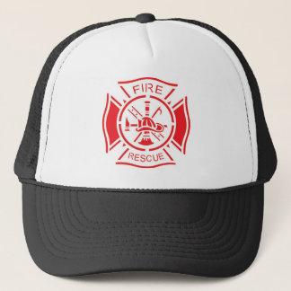 Gorra De Camionero Logotipo del fuego