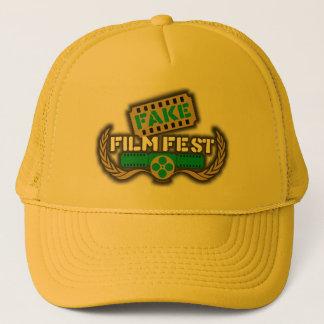 Gorra De Camionero Logotipo falso del Fest de la película