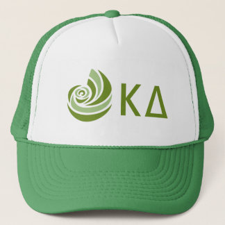 Gorra De Camionero Logotipo grande de Lil del delta de Kappa