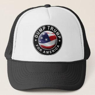 Gorra De Camionero Logotipo oficial de DumpTrumpforAmerica