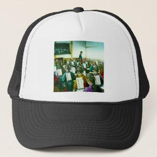 Gorra De Camionero Los chicas enseñan en sala de clase vieja del