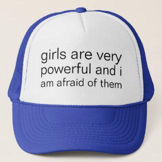 Gorra De Camionero los chicas son muy potentes y tengo muy miedo