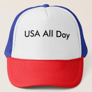 Gorra De Camionero Los E.E.U.U. todo el día