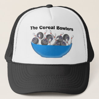 Gorra De Camionero Los jugadores de bolos del cereal